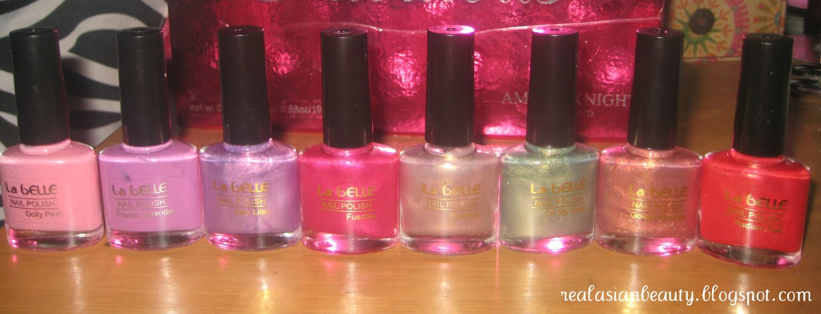 Real Asian Beauty: Nail Polish Haul