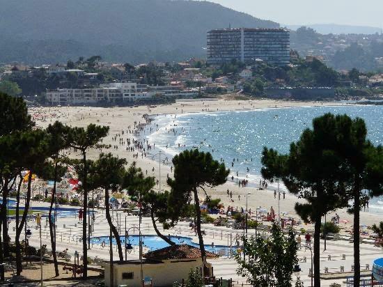 La Playa de Samil en Vigo