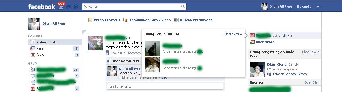 Ucapan Selamat Ulang Tahun Otomatis ke Teman Facebook