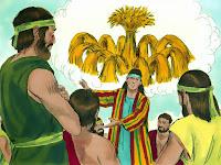 Joseph interpreting a dream
