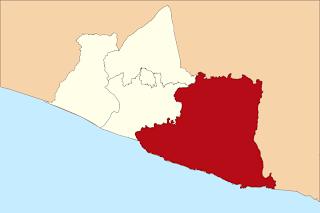 Peta Wilayah Kabupaten Gunungkidul DI Yogyakarta
