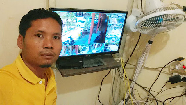 Paket CCTV 10 Camera di SMA PGRI 2 Kayen - Pati