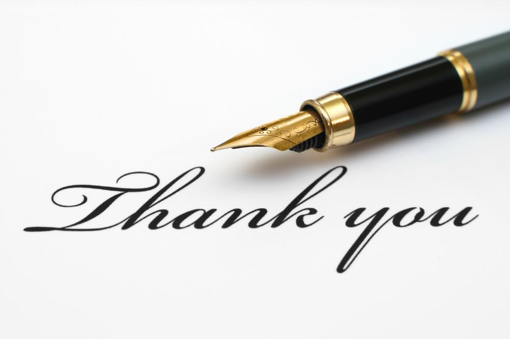 Thank You Note Image