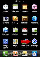 Mengkoneksikan Samsung Galaxy Ace ke Jaringan Wi-Fi