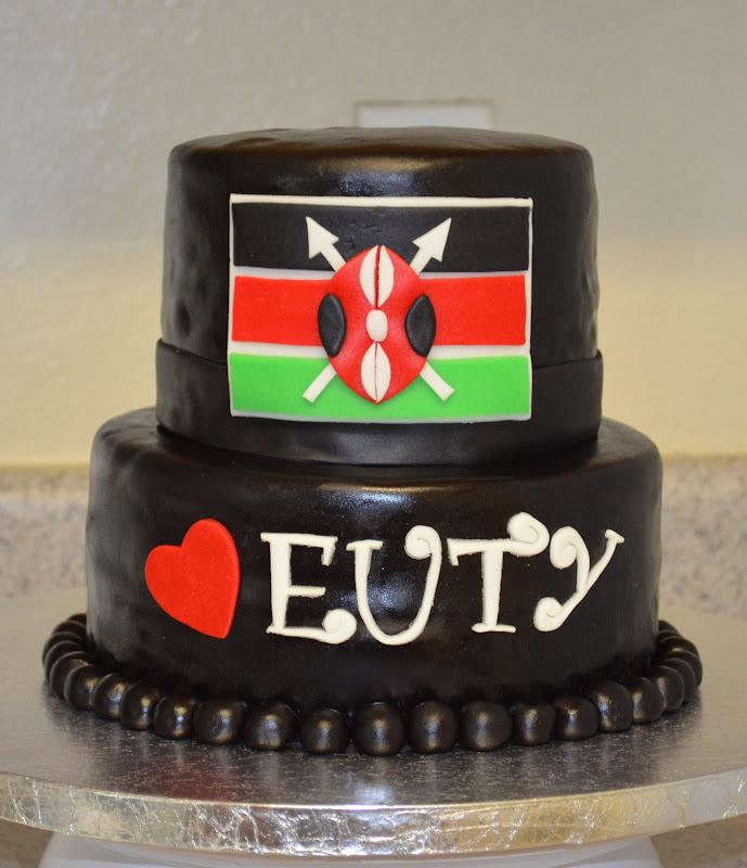 Sweetcakern Kenya Flag Cake