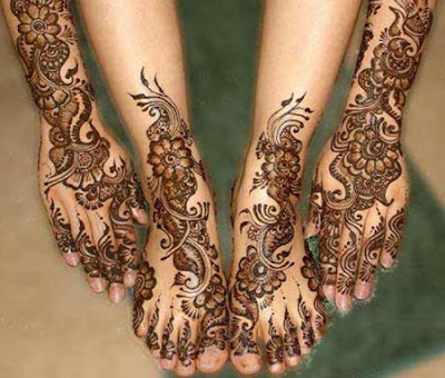 Indian-Bridal-Mehndi-Art