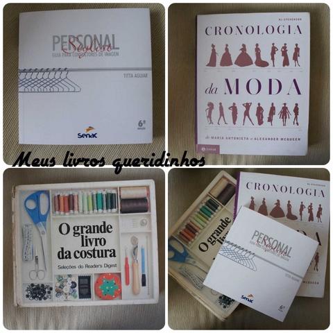 """""""Meus-livros-de-moda-estilo-e-costura"""" www.alinhavosdemoda.com.br"""