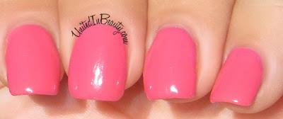 Pink Zoya Nail Polish Lo