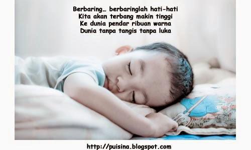 "Puisi berbaring diam-diam ""Edisi Arjuna Linglung"""