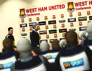 Download Press Conference West Ham United PES 2013