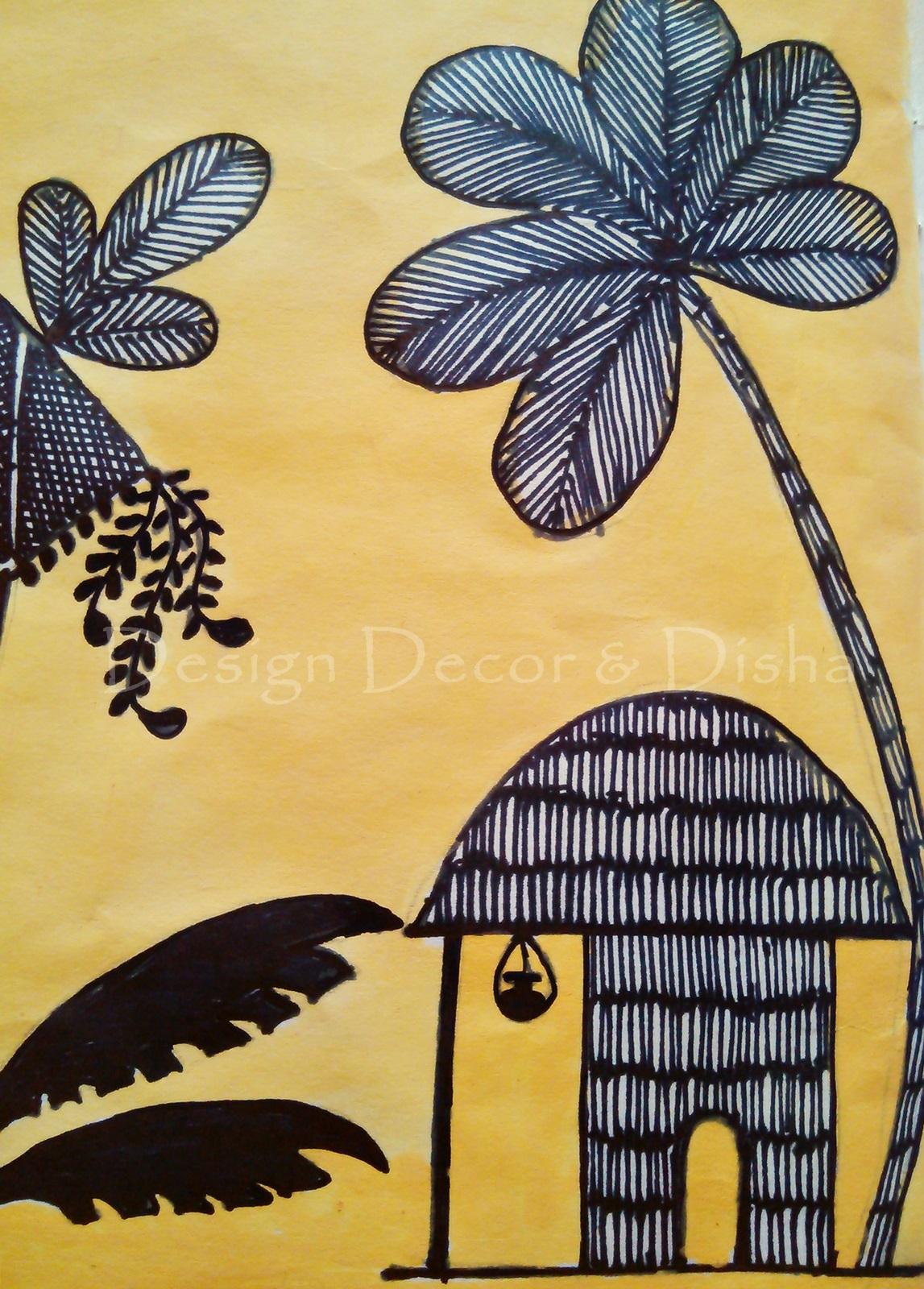 Design Decor Disha An Indian Design Decor Blog Warli Art My