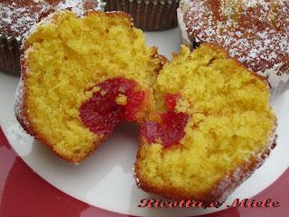 muffins alla arancia e miele (senza latte e senza burro) / muffins a la naranja y miel (sin leche ni manteca)