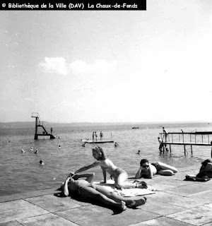 piscine, plage, Monruz, Neuchâtel