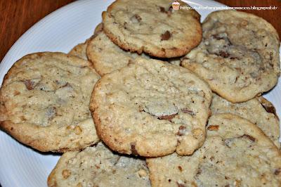 muesli & chocolate chip cookies