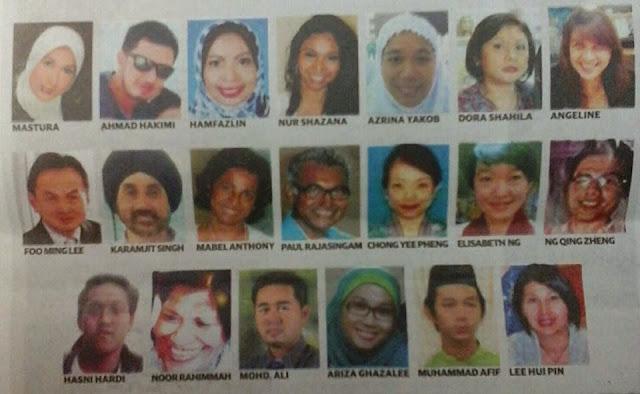 SUASANA PILU DI HARI MALAYSIA BERKABUNG