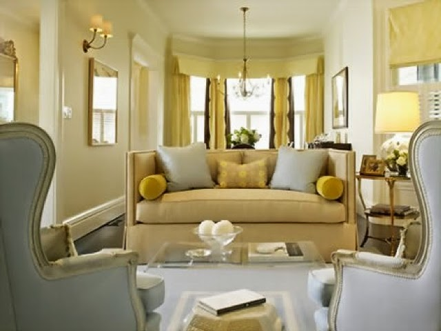 Yellow Living Room Paint Color Ideas