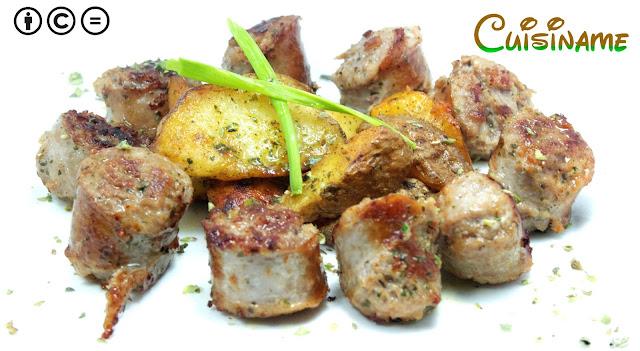 butifarra, butifarras con patatas, patatas fritas, recetas de carne, recetas de cocina, curiosidades, chistes, humor