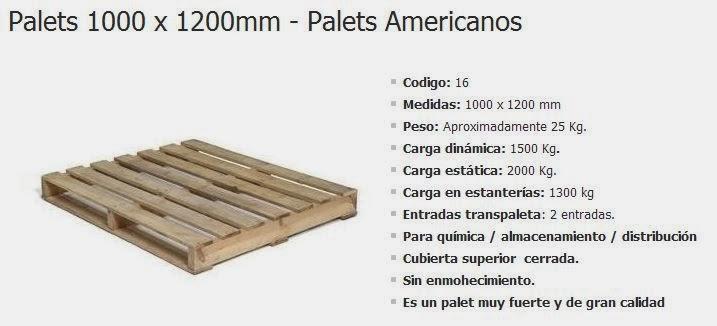 Peso palet americano transportes de paneles de madera - Cuanto vale un palet ...