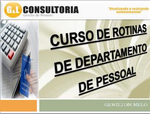 CURSO DE DEPARTAMENTO DE PESSOAL
