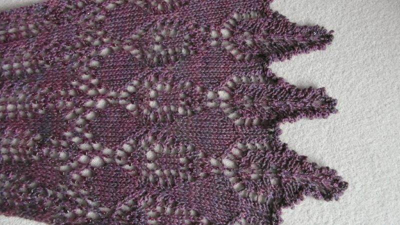 TE KOOP: extra lange 100% zijden shawl.