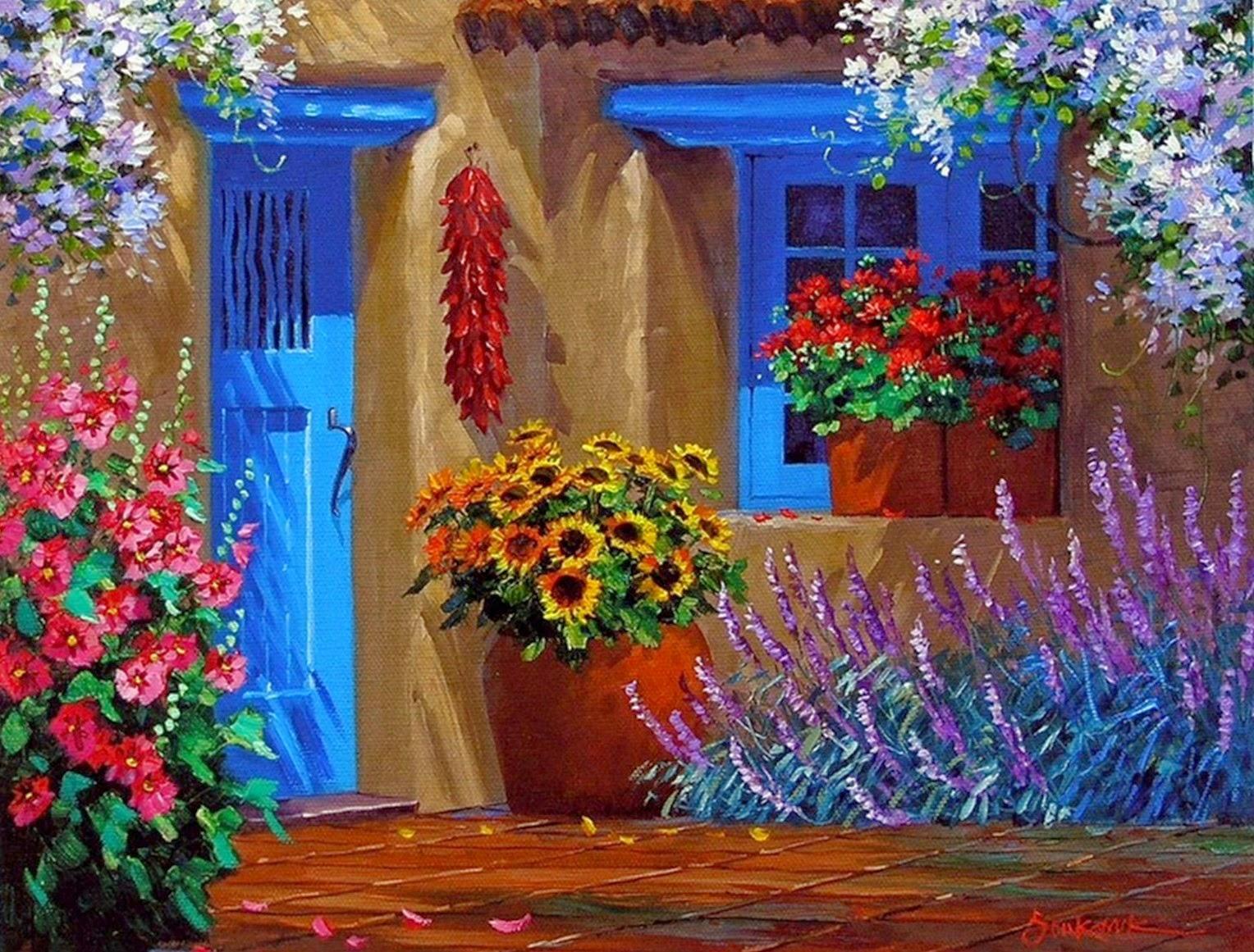 Cuadros modernos pinturas y dibujos im genes de cuadros for Pinturas bonitas para casas