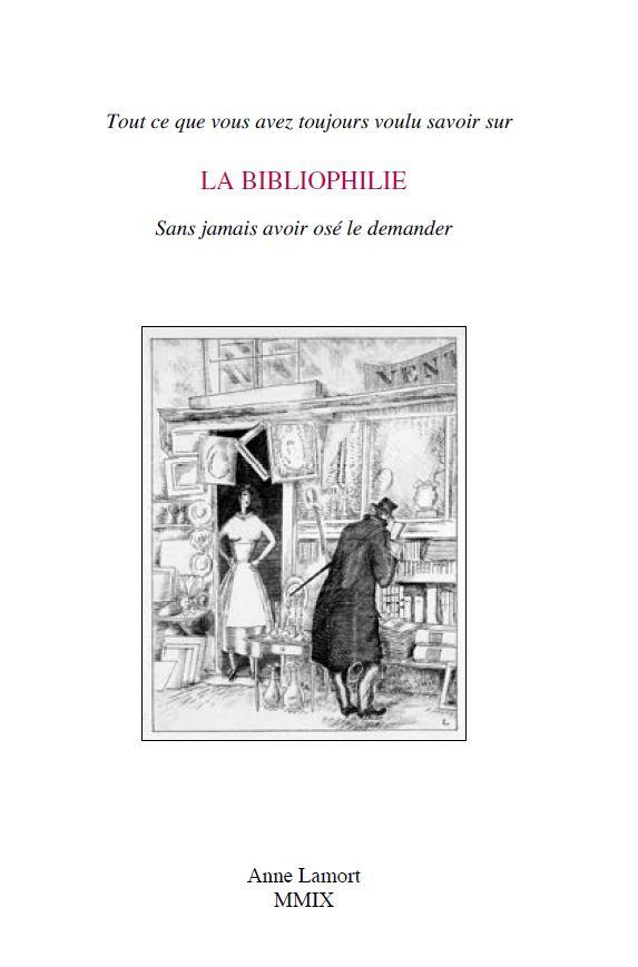 Le guide de la librairie de Anne Lamort.