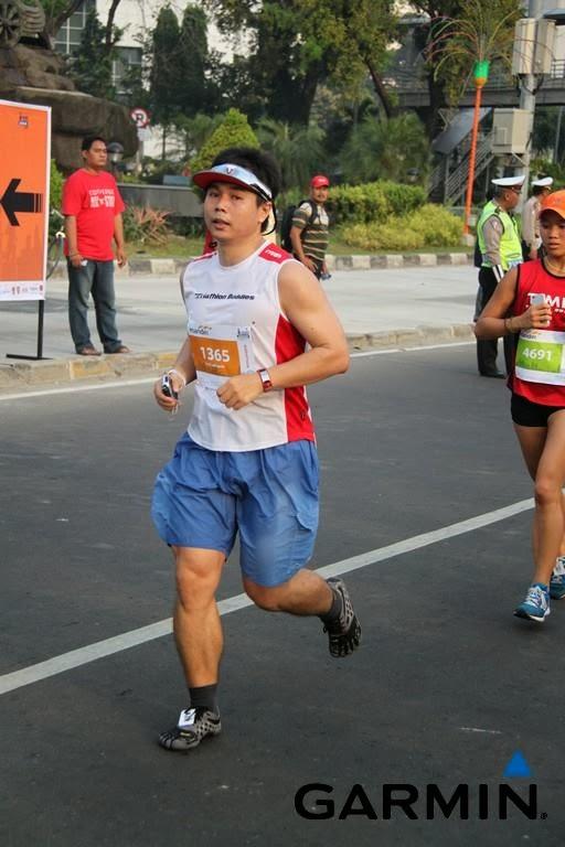Pengalaman Marathon pertama kali dengan vibram
