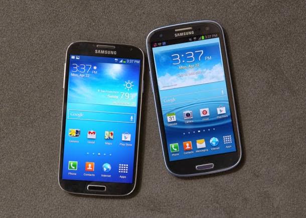 Smartphone Android Samsung Galaxy S4, S3, dan Note 2 Bakal Terima update 4.3