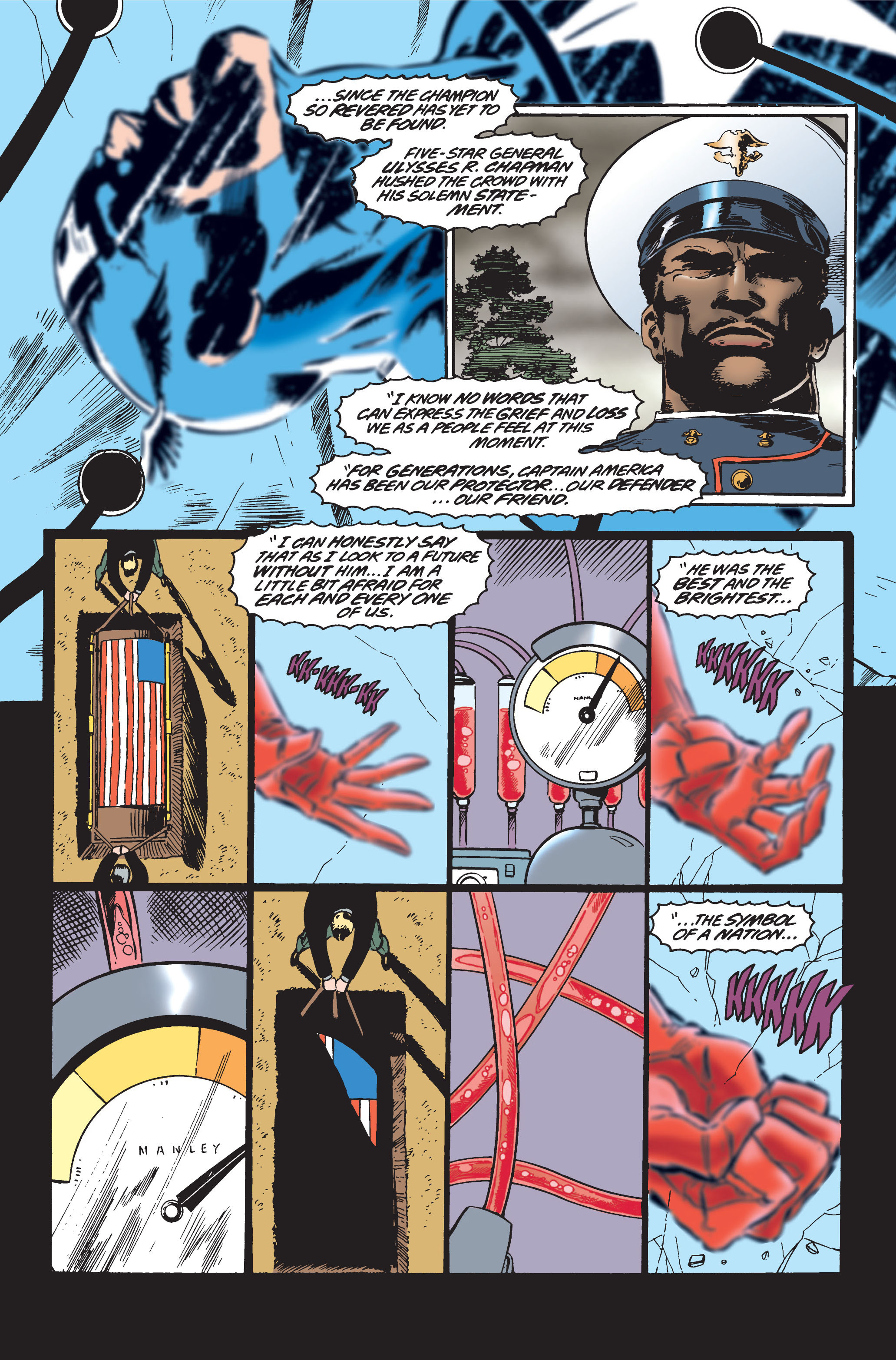 Captain America (1968) Issue #445 #399 - English 4