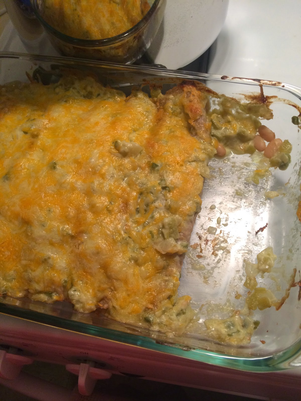 Chicken and White Bean Enchiladas with Creamy Salsa Verde (Skinnytaste ...