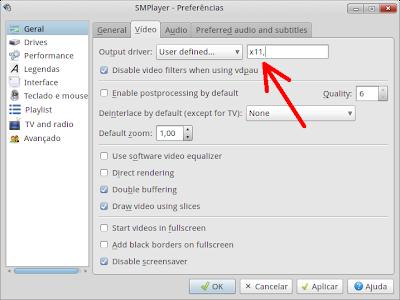 Preferências do SMPlayer - screenshot