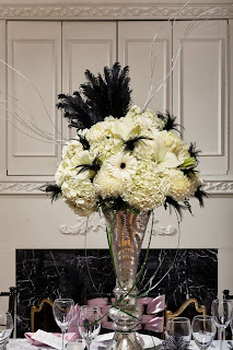 20s style flowers