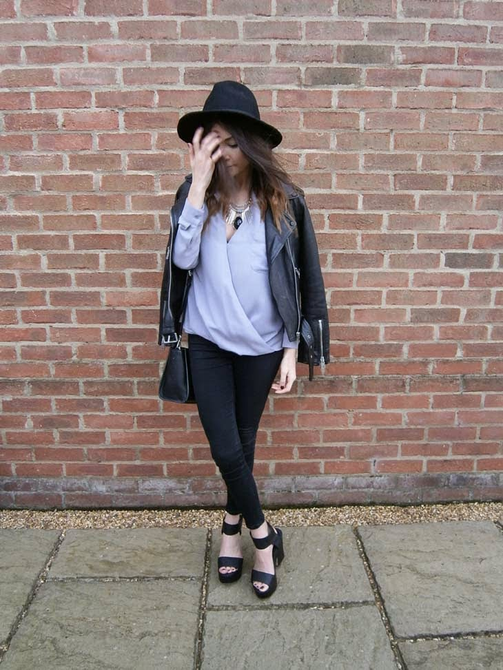 uk fashion blogger street style all saints leather