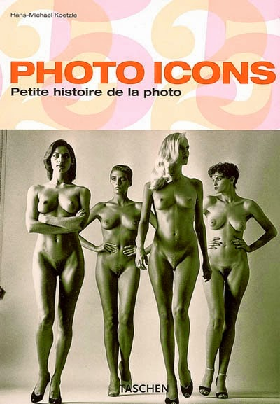 Photo Icons - Taschen Book cover with 4 naked ladies