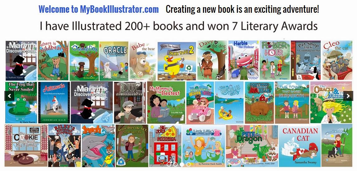 Children's book Illustrator Toby Mikle