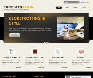Tungstenation WordPress Theme