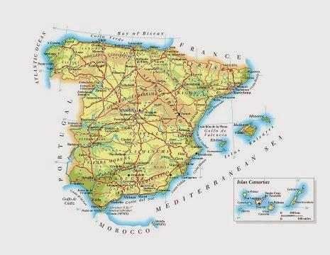 Mapa de la Ciudad de Leon España España Mapa de la Ciudad