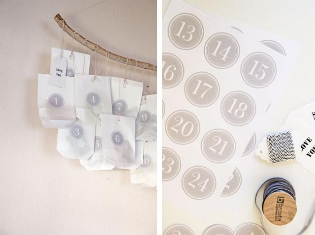 Amalie loves Denmark Adventskalender DIY