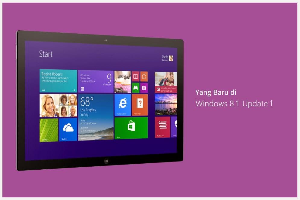 Yang Baru di Windows 8.1