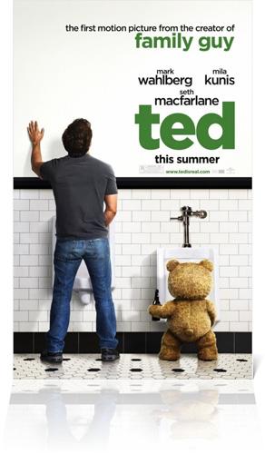 TED Poster Mark Wahlberg Seth MacFarlane