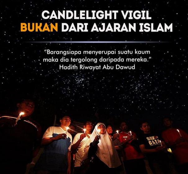 Candlelight Vigil Bukan Dari Ajaran Islam