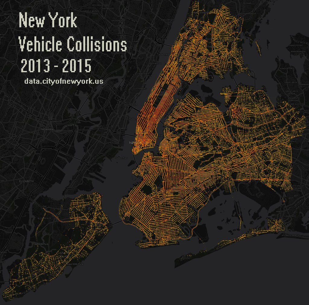 New York car crashes (2013 - 2015)
