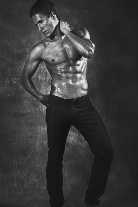 Tyler Kenyon in blacn and white by Renie Saliba