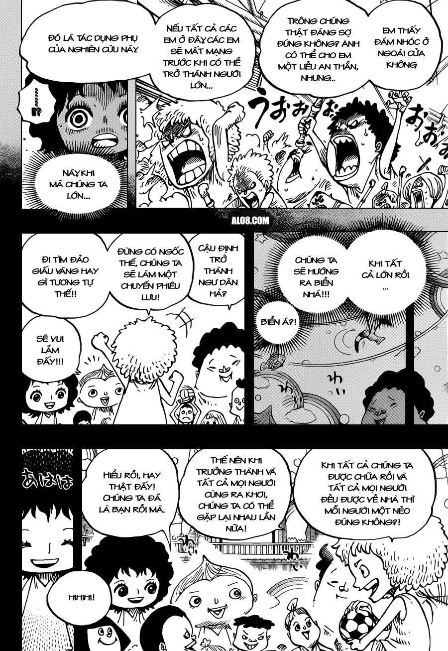 One Piece Chapter 688: Mocha 010