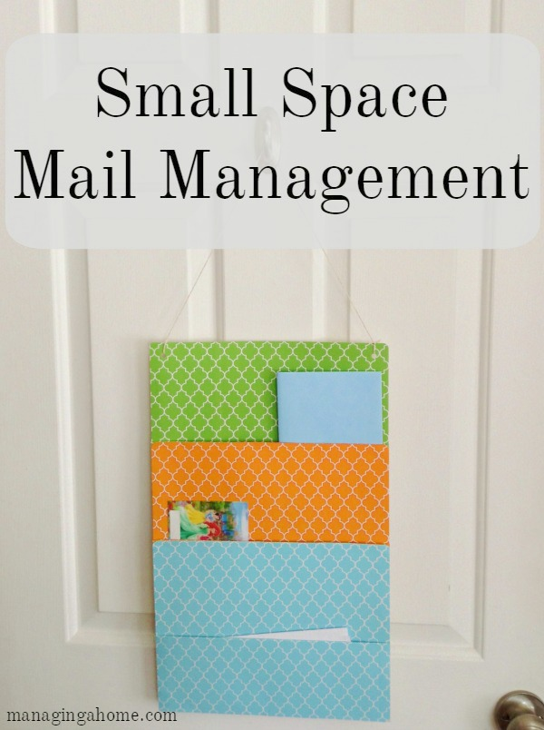 commmand center mail management small houses or apartments renter friendly