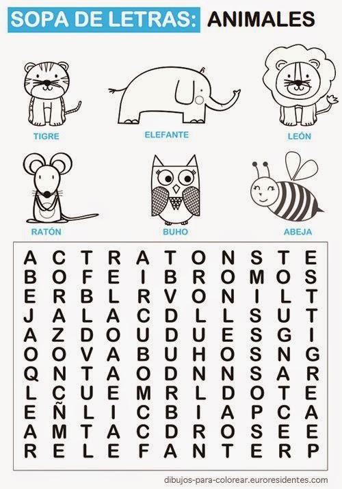 ¿Encontrarás todas las palabras?