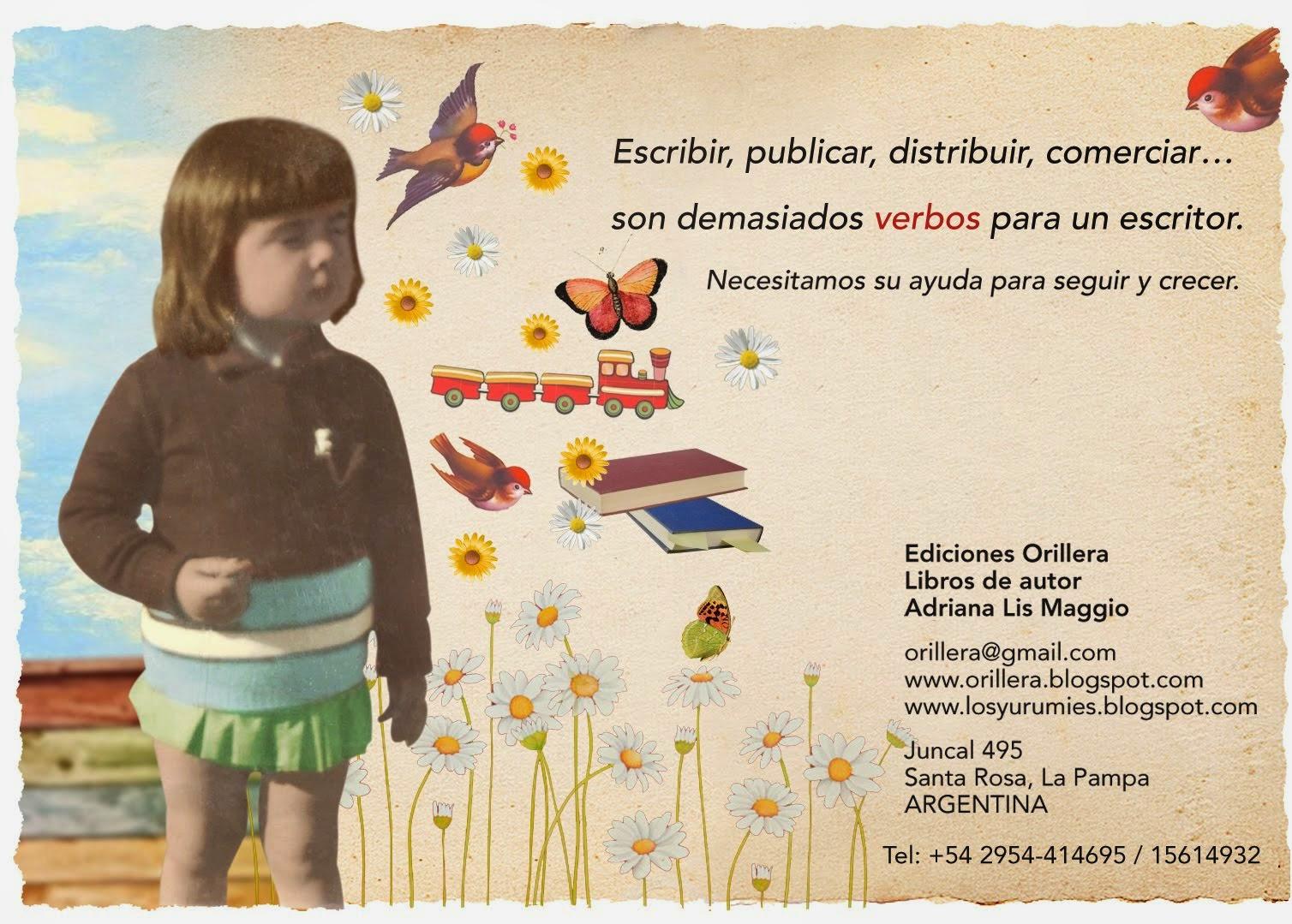 Ediciones Orillera. Santa Rosa. La Pampa.