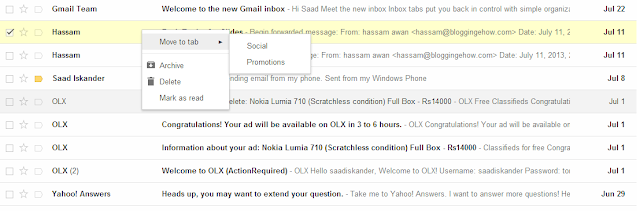 Google Introduces New Gmail Tabs: How To Use Them? - Figure 4