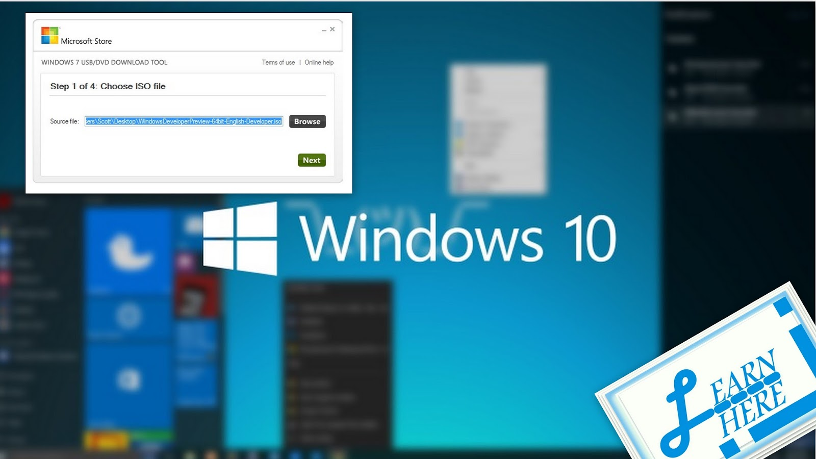 Learn here corner how to install window 10 iso with help for Window 10 iso