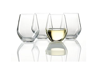 Primp my bride registry gifts received so far - Lenox stemless red wine glasses ...